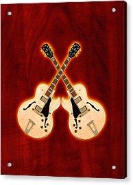 Gibson-es-175 Acrylic Print by Doron Mafdoos