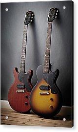 Gibson Les Paul Junior Guitars Acrylic Print