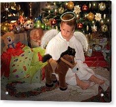 Gift Of Christmas Acrylic Print by Doug Kreuger