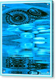 Gifts From The Sea Acrylic Print by Ray Tapajna