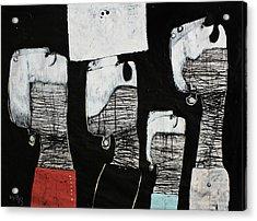Gigantes No. 10 Acrylic Print by Mark M  Mellon