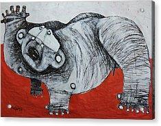 Gigantes No. 2 Acrylic Print by Mark M  Mellon