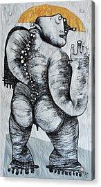 Gigantes No. 6 Acrylic Print by Mark M  Mellon