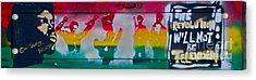 Gil Scott On Wood Acrylic Print by Tony B Conscious
