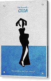 Gilda Acrylic Print by Ayse Deniz