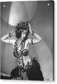 Gilda Gray In Priestess Of Night's High Mysteries Acrylic Print