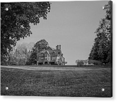 Gilded Age Mansion Acrylic Print by Brian MacLean