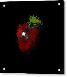 Gimme That Apple Acrylic Print by Lourry Legarde
