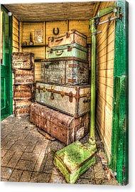 Gin And Baggage Acrylic Print