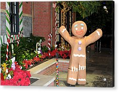 Ginger Bread Man Acrylic Print
