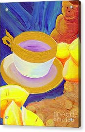 Ginger Lemon Tea By Jrr Acrylic Print