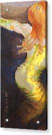 Ginger Serpentine Acrylic Print
