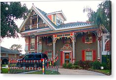 Gingerbread House - Metairie La Acrylic Print