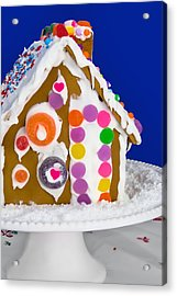 Acrylic Print featuring the photograph Gingerbread House by Vizual Studio
