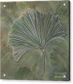 Ginko Leaf Acrylic Print