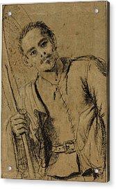 Giovanni Francesco Barbieri, Called Guercino Acrylic Print by Litz Collection