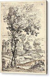 Giovanni Francesco Grimaldi Italian, 1606 - 1680. Landscape Acrylic Print by Litz Collection