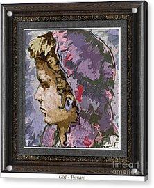 Girl G2 Acrylic Print