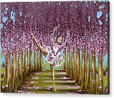Blossom Acrylic Print by Karina Llergo