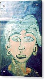 Girl With Ear Rings Acrylic Print