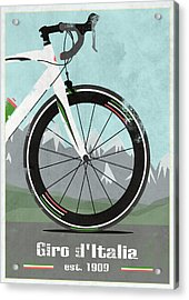 Giro D'italia Bike Acrylic Print by Andy Scullion