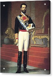 Gisbert, Antonio 1835-1902. Portrait Acrylic Print