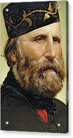 Giuseppe Garibaldi Acrylic Print by Unknown