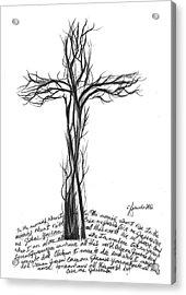 Give Me Jesus Acrylic Print by J Ferwerda