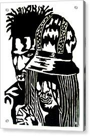 Give Me Strength Acrylic Print by Patrick Carrington