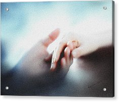 Give Me Your Hand Acrylic Print by Kume Bryant
