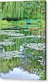 Giverny Acrylic Print by Olivier Le Queinec