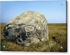 Glacial Erratic, Cape Cod Acrylic Print