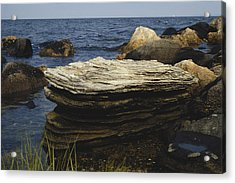 Glacial Erratics, Connecticut Acrylic Print