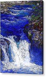 Glacial Flow-2 Acrylic Print