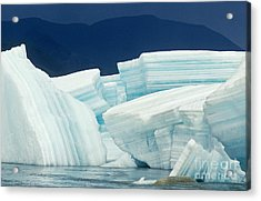 Glacial Ice Acrylic Print by Art Wolfe