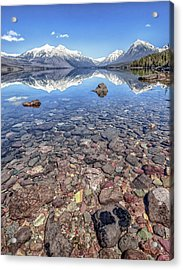 Glacial Lake Mcdonald Acrylic Print