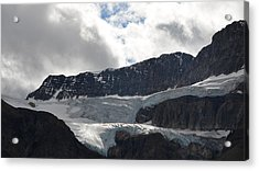 Glacial Mountain Acrylic Print by Cheryl Miller