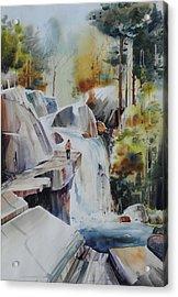 Glacial Quarries Acrylic Print