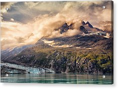 Acrylic Print featuring the photograph Glacier And Peaks-glacier Bay National Park by Janis Knight