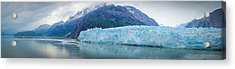 Acrylic Print featuring the photograph Glacier Bay Panoramic by Janis Knight