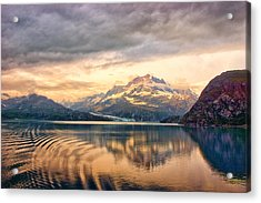 Acrylic Print featuring the photograph Glacier Bay Reflections by Janis Knight