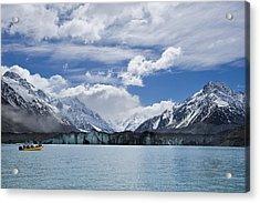 Glacier Explorers Acrylic Print by Ng Hock How