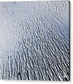 Acrylic Print featuring the photograph Glacier by Gunnar Orn Arnason