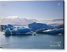 Glacier In Iceland Acrylic Print