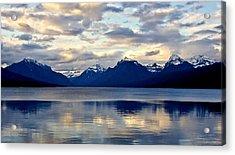 Glacier Morning Acrylic Print