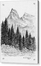 Glacier Nat. Park Acrylic Print