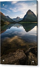 Glacier National Park 2 Acrylic Print by Larry Marshall