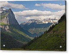 Glacier National Park Acrylic Print by John Shaw