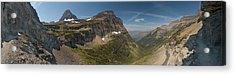 Glacier National Park Panorama Acrylic Print by Sebastian Musial