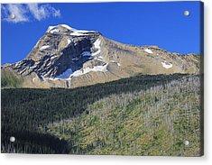 Glacier National Pk Mt Acrylic Print by Kathleen Scanlan